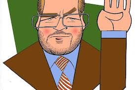Cartoon of Grover Norquist